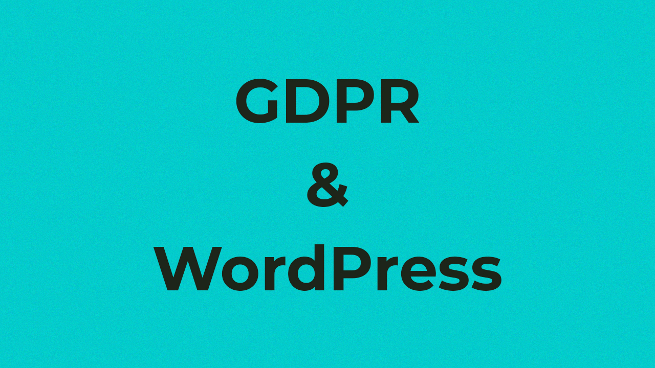 A new law has been issued, according to which sites in which visitors from Europe must meet certain requirements. Here I will give tips for the popular WordPress CMS.